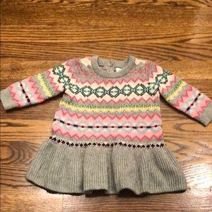 Gap Fair Isle Sweater Dress